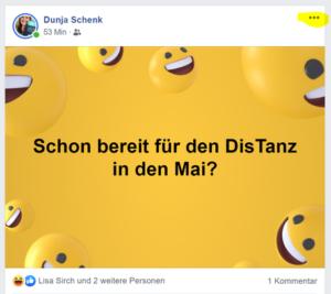Beispielbild Beitrag Dunja Schenk