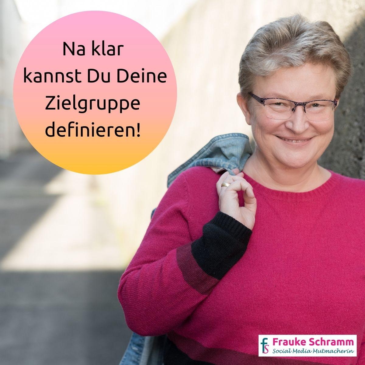 Frauke Schramm Social Media Mutmacherin Download Freebie Abschluss