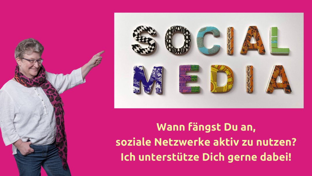 Frauke Schramm Social Media Mutmacherin Titelbild Social Media Begleitung