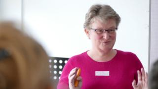 Frauke Schramm Social Media Mutmacherin die eine Hälfte des PowerDuo