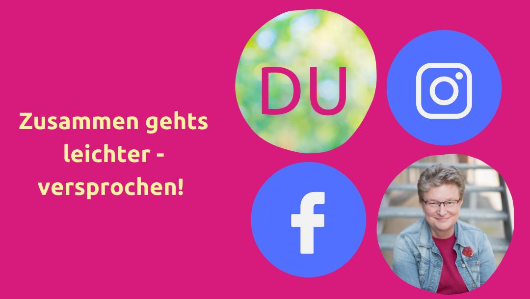 Frauke Schramm Social Media Mutmacherin Begleitung Angebot Social Media Icons
