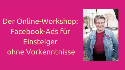 Frauke Schramm Social Media Mutmacherin  Übersichtsseite Ads Workshop