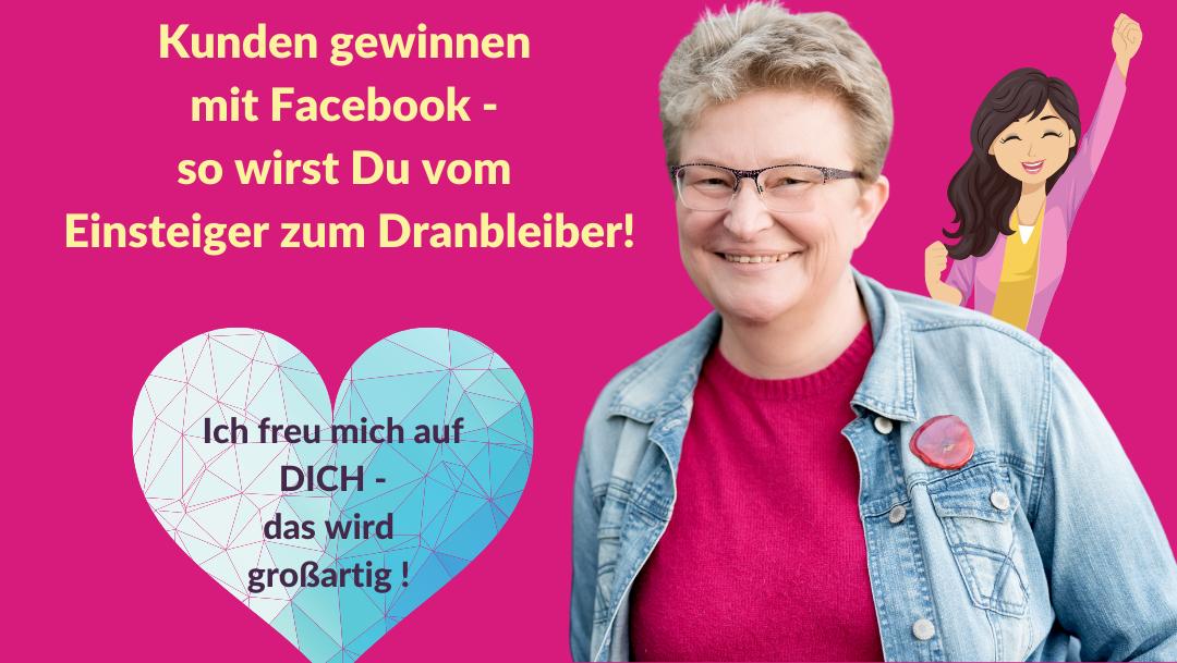 Frauke Schramm Social Media Mutmacherin blaues Herz