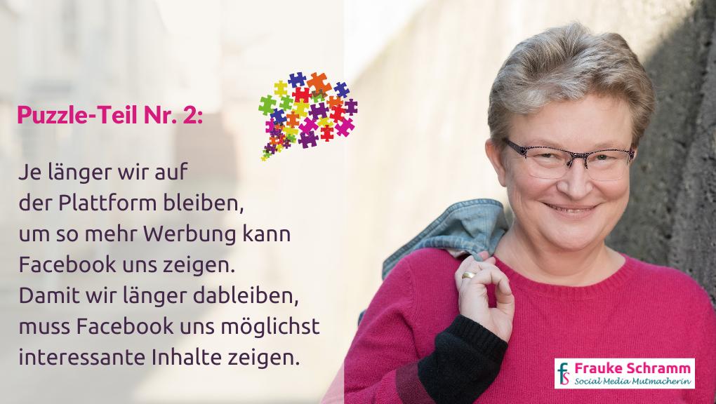Frauke Schramm Social Media Mutmacherin Newsfeed Puzzle 2