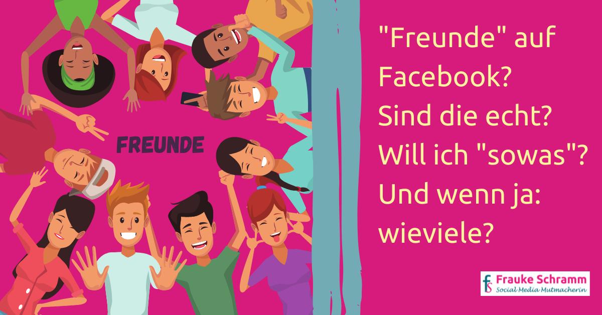 Frauke Schramm Social Media Mutmacherin Freunde auf Facebook